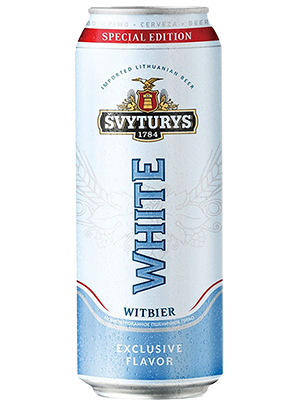 Svyturis White, in can 0,5 л. (Швитурис Уайт в ж/б)