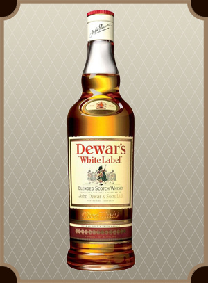 Dewar`s White Label 0.5 л. (Дьюарс Уайт Лэйбл)