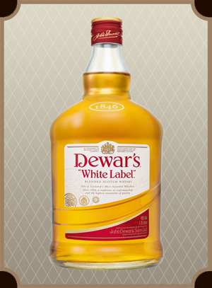 Dewar`s White Label 0.375 л. (Дьюарс Уайт Лэйбл)