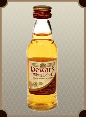 Dewar`s White Label 0.2 л. (Дьюарс Уайт Лэйбл)