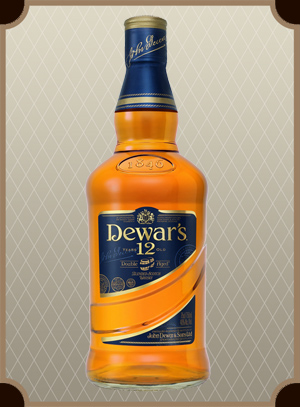 Dewar`s Special Reserve 12 years old 0.375 л. (Дьюарс 12 лет)