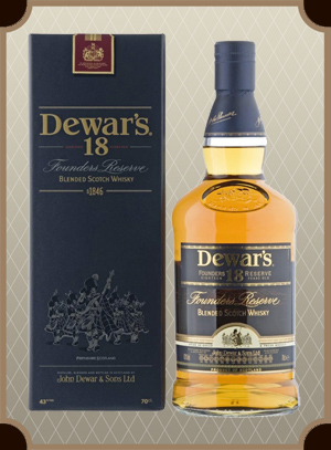 Dewar`s 18 in box (Дьюарс 18 лет)