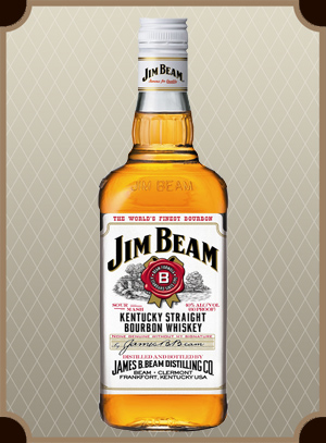 Бурбон Jim Beam White (Джим Бим Уайт), литраж 0,7