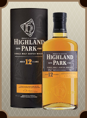 Highland Park 12 Year Old, with box (Хайлэнд Парк 12 лет)