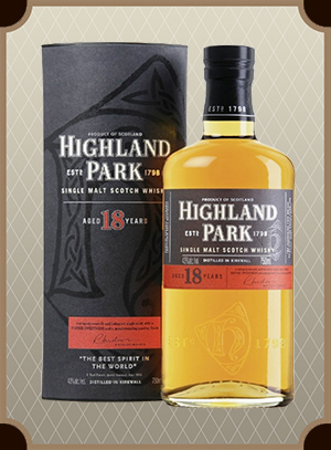 Highland Park 18 Year Old, with box (Хайлэнд Парк 18 лет)