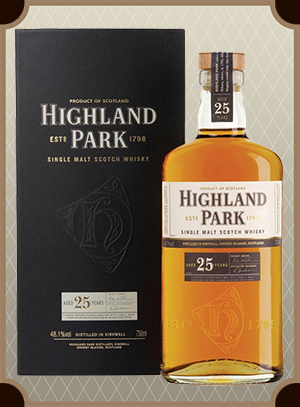Highland Park 25 Year Old, with box (Хайлэнд Парк 25 лет)