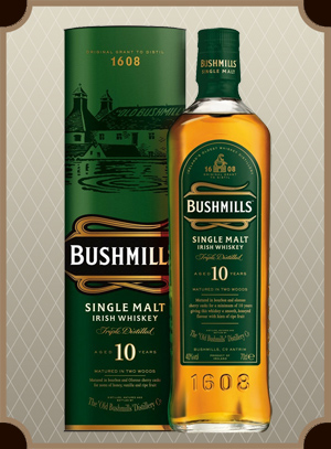 Bushmills Malt 10 Year Old, with box (Бушмилс Молт 10 лет)