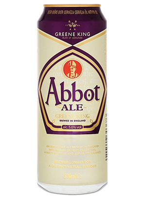 Greene King, Abbot Ale, in can 0,5 л. (Грин Кинг, Эббот Эль в ж/б)