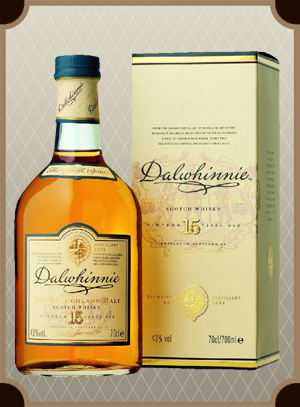 Dalwhinnie Malt 15 years old, with box (Далвини Молт 15 лет)