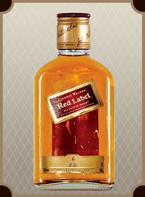Johnnie Walker, Red Label 0.2 л. (Джонни Уокер, Рэд Лэйбл)
