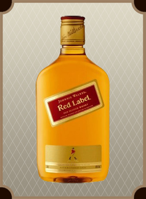 Johnnie Walker, Red Label 0.375 л. (Джонни Уокер, Рэд Лэйбл)