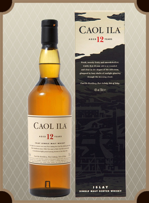 Caol Ila malt 12 years old, with box (Каол Айла молт 12 лет)