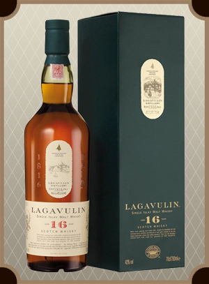 Lagavulin malt 16 years old, with box (Лагавулин молт 16 лет)