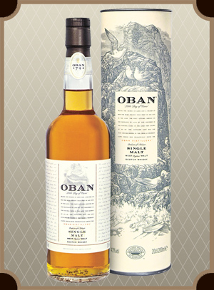 Oban malt 14 years old, with box (Оубэн молт 14 лет)