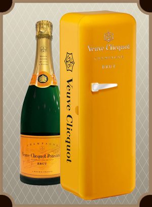 Veuve Clicquot Brut, metal box (Вдова Клико Брют в мет. п/у)
