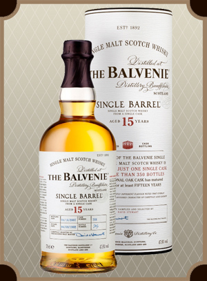 Balvenie Single Barrel 15 years Old (Балвени Сингл Баррел 15 лет)