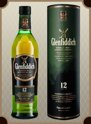 Glenfiddich 12 Years Old 0.75 л. (Гленфиддик 12 лет)