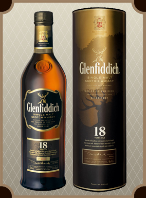 Glenfiddich 18 Years Old 0.75 л. (Гленфиддик 18 лет)