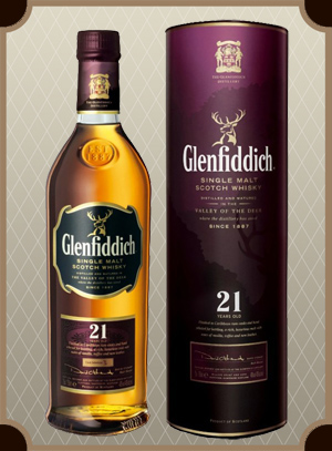 Glenfiddich 21 Years Old (Гленфиддик 21 год)