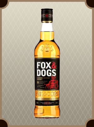 Whisky Fox & Dogs 0.7 л. (Фокс энд Догс)