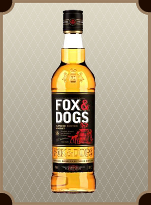 Whisky Fox & Dogs 0.5 л. (Фокс энд Догс)