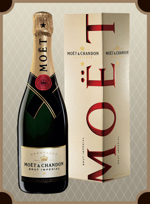 Moet & Chandon Brut Imperial in gift box (Моет Шандон Брют Империал в п/у)