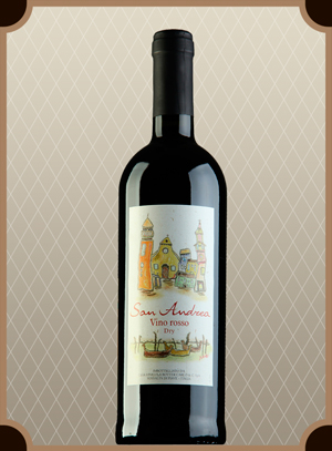 San Andrea Rosso red dry,VDT  (Сан Андреа)