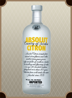 Absolut Citron 0.5 л. (Абсолют Лимон)