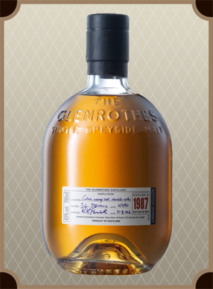 Glenrothes Single Malt 1987 (Гленротс Сингл Молт 1987 в дер. кор.)