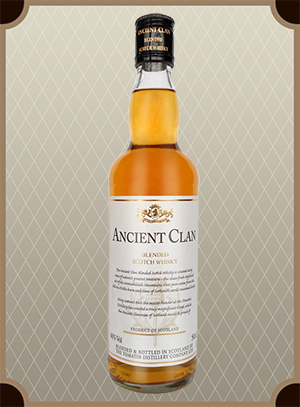 Ancient Clan Blended Scotch Whisky 1.0 л.  (Эйшент Клан)