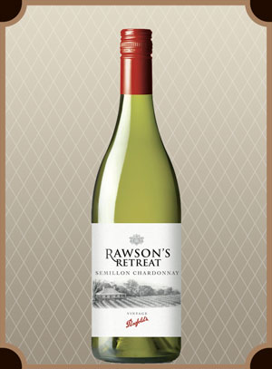 Penfolds Rawson`s Retreat Semillon Chardonnay (Пенфолдс Роусонс Ритрит Семийон Шардоне)