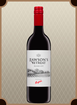 Penfolds Rawson`s Retreat Merlot (Пенфолдс Роусонс Ритрит Мерло)