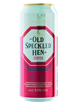 Greene King, Old Speckled Hen, in can 0,44 л. (Грин Кинг, Олд Спеклед Хэн в ж/б)